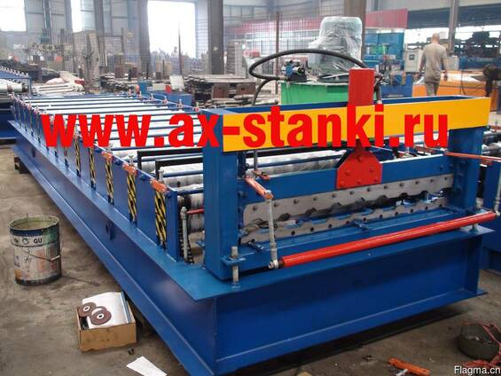 Автоматическая линия для производства профнастила С10 и С21