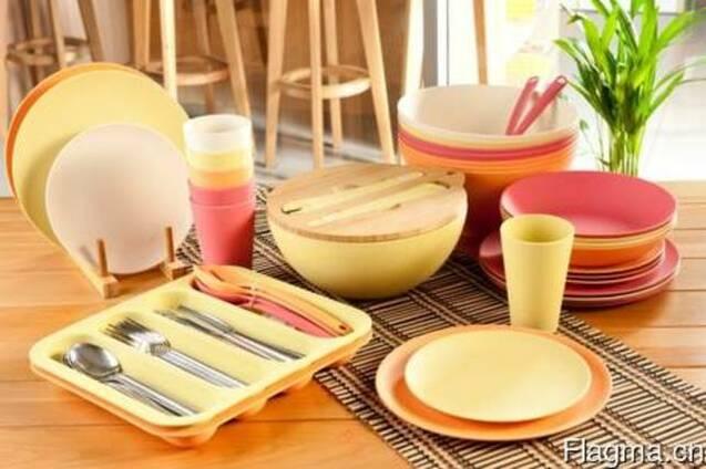 Бамбуковая посуда из Китая