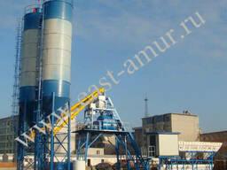 Бетонный завод 100 куб/час HZS100