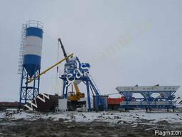 Бетонный завод 35 куб/час HZS35