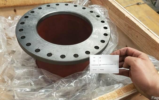 Диск тормозной со ступицей CLG855 70A0648 liugong