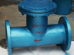 Фильтр T-образный фланцевый стальной Ру10 Ду150, Китай