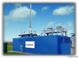 Газопоршневая электростанция SUMAB (MWM, Jenbacher) 1200 Квт