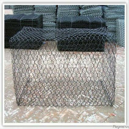 Hot dipped galvanized gabion baskets