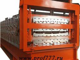 Хотный двухэтажный автоматический станок для профнастила из