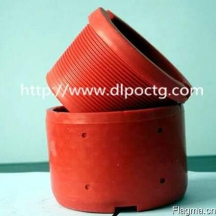 Красный пластмассовый пвх внутренняя внешняя резьба трубы
