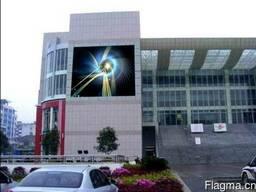 Купить светодиодный уличный экран цена низкая из Китая p6 RG - фото 2