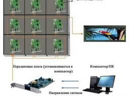Купить светодиодный уличный экран цена низкая из Китая p6 RG - фото 3
