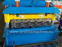 Линия для производства металлочерепицы в Китае