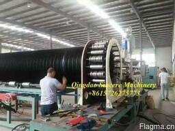 Линия для спиральновитой стальной трубы с покрытием ПНД