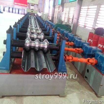 Линия по производству балки дорожного ограждения в КНР