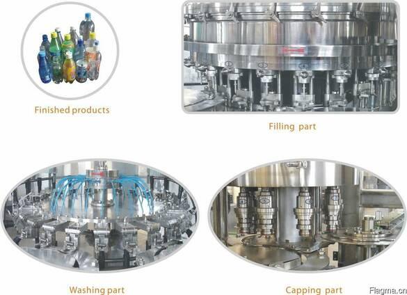 Оборудование для изобарического розлива газированных напитко
