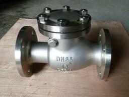 Продаю клапаны обратные поворотные нержавеющие 19нж53нж Ру16