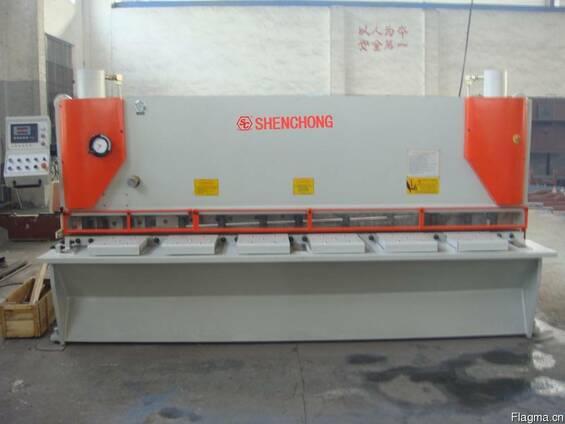 QC11Y-8х3200 ножницы гильотинные гидравлические из Китая