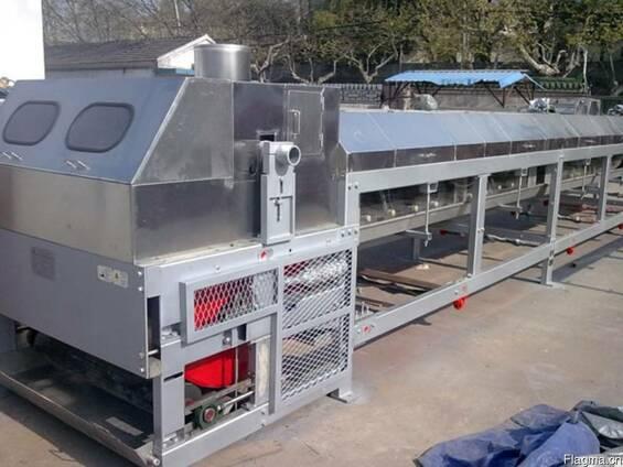 Ротационный гранулятор конвейерного типа плавильный гранулят