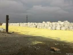 Sulphur. Сера молотая и комовая минеральные удобрения - фото 2