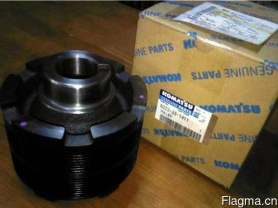 Шкив 6738-91-1510 Komatsu SA6D102 двигатель