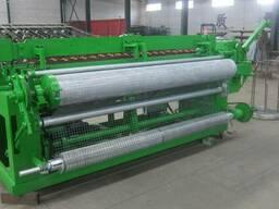 Станок для производства сварочной сетки в рулонах