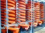 Стеклопластиковый винтовой сепаратор серии BLL