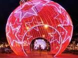 Светодиодные фигуры елочные шары - фото 1