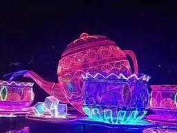 Светодиодные фигуры елочные шары - фото 4