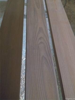 Thermally modified wood