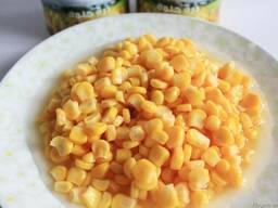Томатная паста, кукуруза консервированная