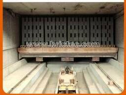 Туннельная сушилка для производства кирпича