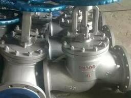 Вентиль запорный стальной 15с65нж Ру16 Ду300 хорошего качест