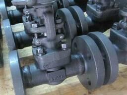 Вентили стальные фланцевые кованные Ру160 Ду25 с маховиком,