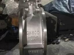 Затвор дисковый поворотный AISI304 Ру10 Ду600 под привод