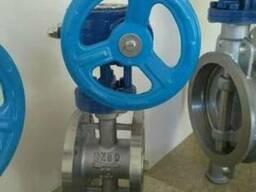 Затвор дисковый поворотный фланцевый нержавеющий Ру10 Ду50
