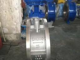 Затвор дисковый поворотный нержавеющий Ру25 Ду300