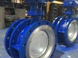 Затворы дисковые поворотные телкскопические стальные