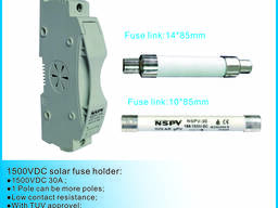 1500VDC fuse holder with fuse