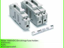 1500VDC солнечный Din строки предохранитель держатель