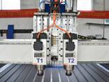 1550 фрезерный станок с чпу с двумя пневматическими шпиделям - фото 2