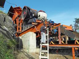 300т / ч производственная линия для дробления речного камня