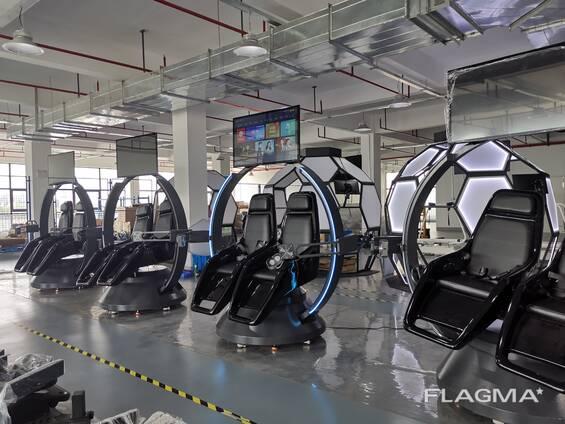 Фабрика по производству VR аттракционов и 5Д/7Д кинотеатров