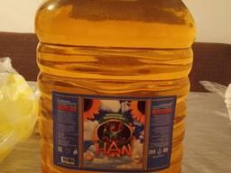葵花籽油5升 Күнбағыс майы 5л Подсолнечное масло 5л