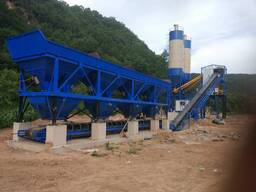 90m3 concrete batching plant