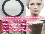 99.9% Beta-Nicotinamide Mononucleotide NMN powder 1094-61-7 for anti-aging - фото 1