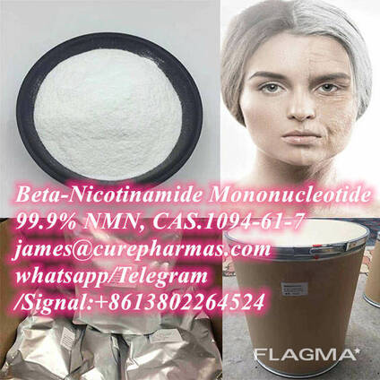 99.9% Beta-Nicotinamide Mononucleotide NMN powder 1094-61-7 for anti-aging