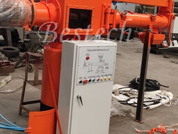 Alkali phenolic resin sand mixer