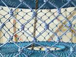 """""""красочные сети""""- Веревочный лабиринт - фото 6"""