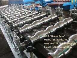 Автоматическая линия металлочерепицы модульной, Китай