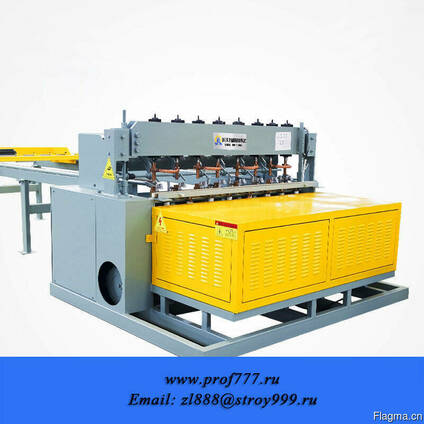 Автоматизированная линия для производства сварных 3D заборов