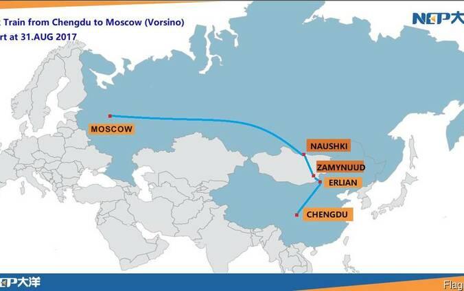 Международные автоперевозки Китай-Atyray
