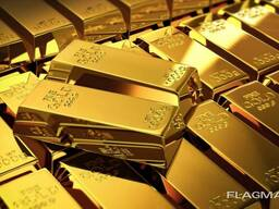 Bank gold 99.95 and 99.99 in bars of 12.5 kg each