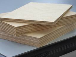Birch plywood (MR) 1525*1525 sanded, E1, GOST 3916. 1-96